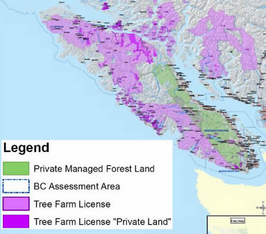 Map Of Crown Land Vancouver Island